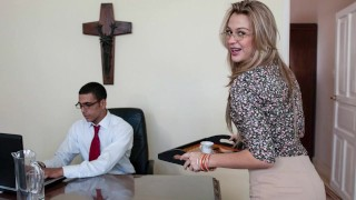 CULIONEROS – New Secretary Karen Getting The Job Done