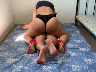 DREAMS PEGGING amateur FOR my GIRL with her strapon !!!!!!!