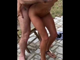 Outdoor threesome with Anissa Kate & Megane Lopez – MySexMobile