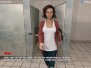 TEMPTATIONS ARE EVERYWHERE #2: COUPLE FUCKS IN A PUBLIC BATHROOM (GAMEPLAY)