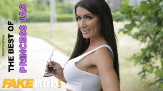 FAKEhub The Best of British Pornstar Princess Jas