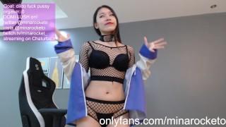 minarocket cb chaturbate camgirl show hinata cosplay 09-04-2020 part 1