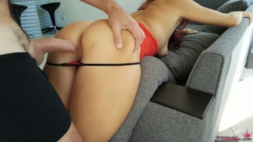 Hard Sex with Sexy Brunette - Blowjob and Cumshot