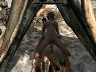 Redhead whore. Ready to surrender to everyone you meet | Porno Game 3d