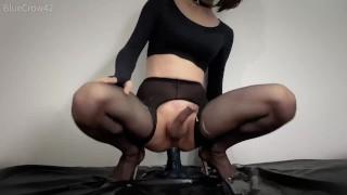 Świetne porno - Żyć R18 Mmd Slutty Crossdresser Trap Ogromna Masturbacja Analna Dildo