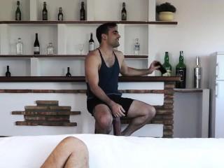 Max Arion & Michael Lucas destroy Ruslan Angelo's ass