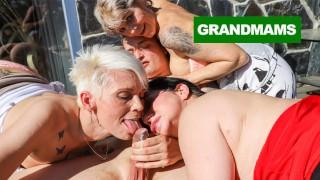 Sleazy Grannies Cumshot Compilation