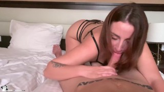 Passionate Sex For Couple In Love - Cowgirl and Blowjob