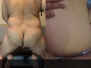 18Yo FIRST CREAMPIE & FUCKED DURING INTERVIEW GUSHING PUSSY