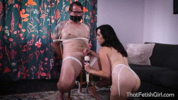 Tied Up & Made To Cum By A Powerful Woman