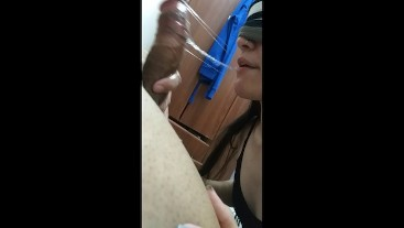 The best AMATEUR sloppy deepthroat from Argentina