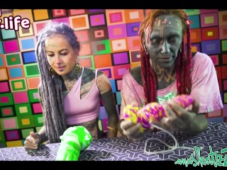 BAD DRAGON UNBOXING – SEX TOY XXL DILDO ANAL – Anuskatzz and Lily Lu more FREE clips on our YOUTUBE