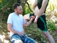 Swapping head in the woods