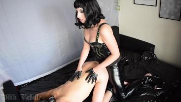 Taking my Slave's Pegging Virginity - Milk Rebelle