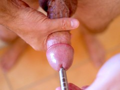 Solo Jerk Off With Vibrator In My Dick
