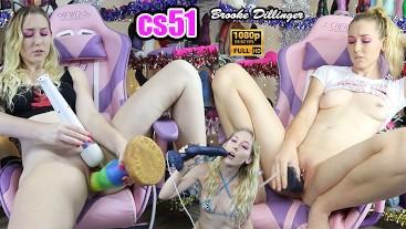 cs51 cs51 Bad Dragon Cam Show Compilation Creampies, Cumshots, Facials and massive dildo Fucking