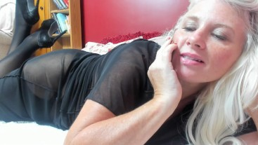 Curvy MILF Rosie: Dirty Good Boy Caught and Taught - First Time w/ Step-Mom