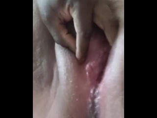 Daddy pounding my pussy & making me SQUIRT