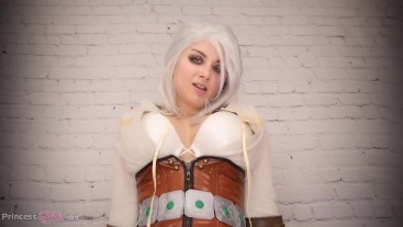 CIRI-OUSLY HORNY FOR GERALT (The Witcher cosplay virtual sex non-nude)