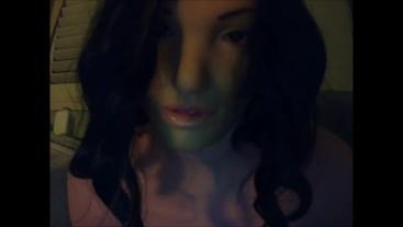 Reni Take Over Pt3! Female mask Renimasks herself on!!!