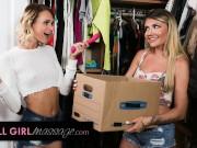 AllGirlMassage Adria Rae And Her Bestie Emma Hix Play With Stepmom's Toys Box ifeelmyself tube