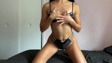 Slutty Asian Teen Wants to Grind on Your Cock