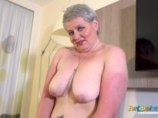 EuropeMaturE Horny Mature Candy Solo Masturbation