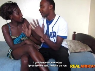 Black Girl with Nice Booty Fucked By Boyfriend ebony home sex