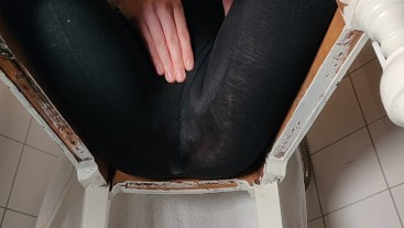 Wetting my tights from below
