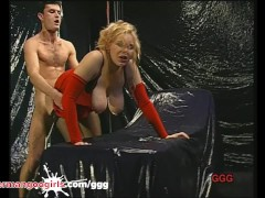 Big Titty Milf Ridden Doggy and Given F...
