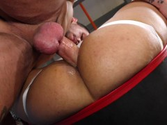 My Dirtiest Fantasy - Twink boy raw fucked and his mouth filled with cum whilst uses a sexmachine