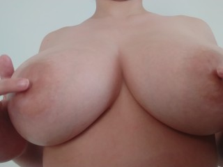 German woman with big natural breasts
