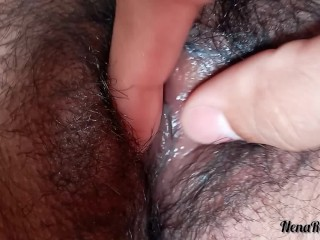 Real wife fingering in the morning