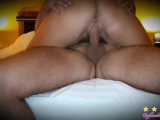 I couldn't resist her riding my cock and I came inside her wet pussy | shower- bj- pussy liking -cum