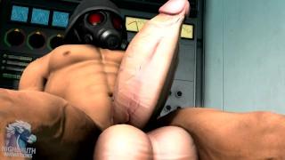 Pełny film porno - Serum Super Żołnierza Animacja Wzrostu Koguta Mięśni