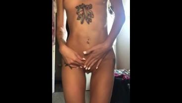 Playful Strip Tease