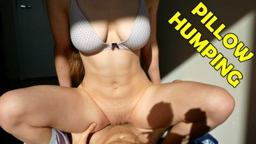 Pillow Humping not enough for Horny Stepsister LONG