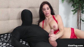 He wanted a Handjob Then She Regrets it accidentally cums on his face