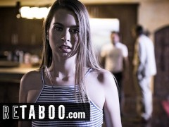 PURE TABOO Step-Brother Catches His Step-Sis Fucking Step-Dad