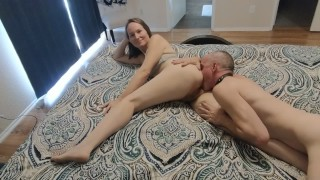 Romantic Pussy, Ass, and Cock Worship until Facial Real Amateur Sex