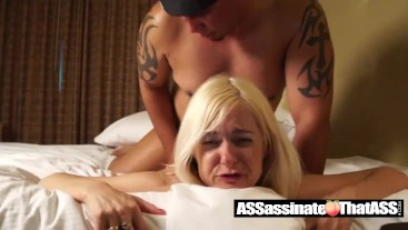 Jay Assassin explodes a MASSIVE load on Hotwife Alanna Thomas' face