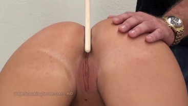 Cora's ass hole caning 1509