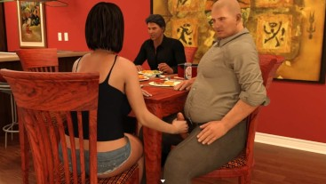 Cuckold.H&Slutty.W: Wife Is Doing A Handjob In Front Her Husband -Ep 37