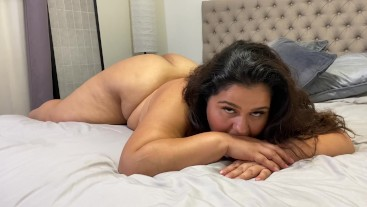 Karla tells you how to stroke while she teases herself
