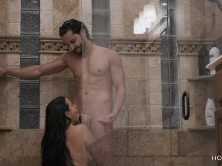 Preview 4 of Shower with my Fit Husband Ends up in Hot and Romantic Sex