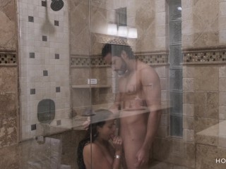 Preview 6 of Shower with my Fit Husband Ends up in Hot and Romantic Sex