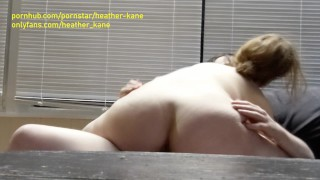 Cowgirl Cums Over for A Quick Ride -  Heather Kane