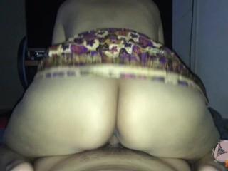 Cum in pussy big tits asian girl & Thai local cloth