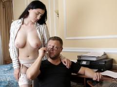 Big Tit Brunette Alexa Black Seduces BF For Sensual Fuck and Facial - S11:E12