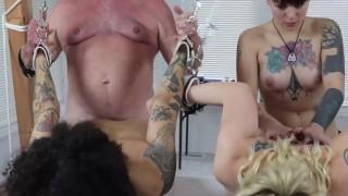 Amelia / Abby / Kingsley DSC56 BDSM Bondage Threesome Blowjobs Girl / Girl Oral Doggystyle Toys